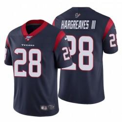 Houston Texans Vernon Hargreaves III 100. Saison Navy Vapor begrenzte Trikot