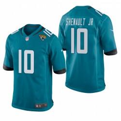 Jacksonville Jaguars Laviska Shenault Jr. Teal NFL Draft Spiel Trikot