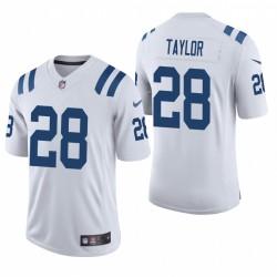 Jonathan Taylor Trikot Indianapolis Colts NFL Draft Weiß Vapor Begrenzte