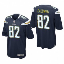 Reche Caldwell Trikot Los Angeles Chargers-Marine-Spiel