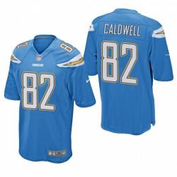 Reche Caldwell Trikot Los Angeles Ladegeräte Blue Spiel