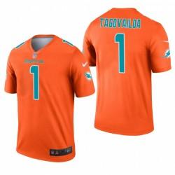 Dolphins Tua Tagovailoa Trikot orange Inverted Legend