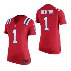 Cam Newton Trikot Patriots Rot Spiel