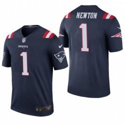 Cam Newton Trikot Patriots Navy Farbe Rausch Legend