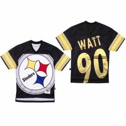 T. J. Watt Big Gesicht Trikot Steelers - Schwarz