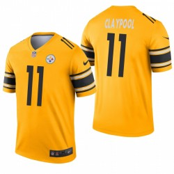 Steelers Chase Claypool Trikot Gold-Inverted Legend