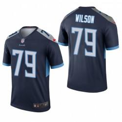 Tennessee Titans und 79 Isaiah Wilson Marine NFL Draft Trikot