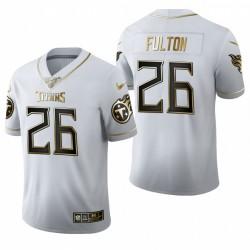 Kristian Fulton Trikot Titans Weiß NFL Draft