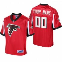 Atlanta Falcons personalisieren Trikot Rot Icon