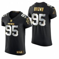 Panther Derrick Brown Golden Edition Trikot Schwarz Elite