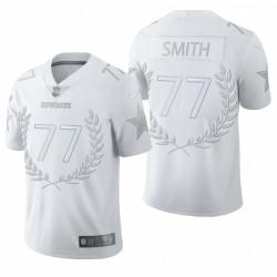 Cowboys Tyron Smith Trikot Weiß Vapor Begrenzte