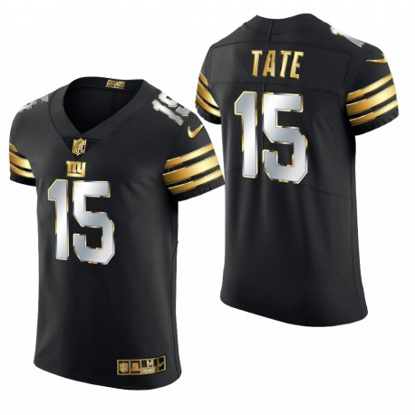 Giants Golden Tate Golden Edition Trikot Schwarz Elite