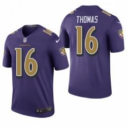 De'anthony Thomas Trikot Ravens Purple Color Rush Legend