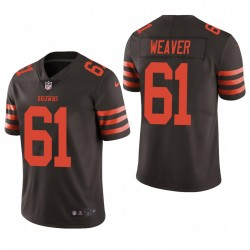 Browns Curtis Weaver Trikot Brown Color Rush Limited
