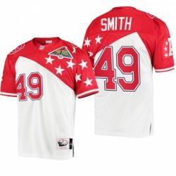 AFC Dennis Smith 1994 Pro Bowl Trikot - Weiß rot