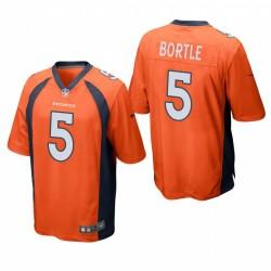 Broncos Blake Bortle Trikot Orange SPiel