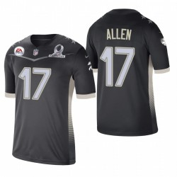 Josh Allen Trikot Rechnungen 2021 AFC Pro Bowl SPIEL Anthrazit