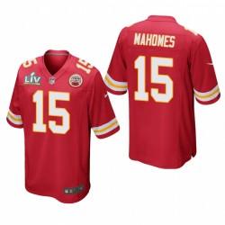 Patrick Mahomes Super Bowl LV Trikot Chiefs Rotspiel