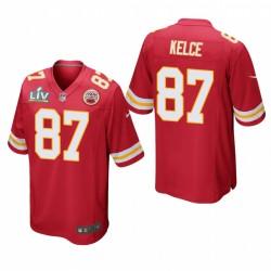 Travis Kelce Super Bowl LV Trikot Chiefs rot spiel