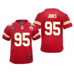 Jugend Chris Jones Trikot Super Bowl LV Chiefs rot spiel
