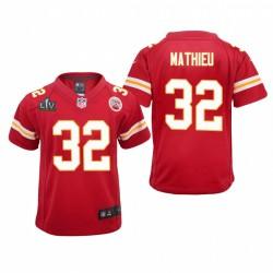 Jugend Tyrann Mathieu Trikot Super Bowl LV Chiefs Rotspiel