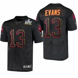 Mike Evans Super Bowl LV Trikot Buccaneers Schwarz