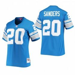 Frauen Barry Sanders Trikot Lions 1996 Legacy Replica Blue