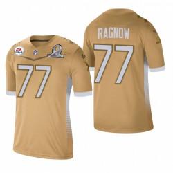 Frank Ragnow Trikot Lions 2021 NFC Pro Bowl SPiel Gold