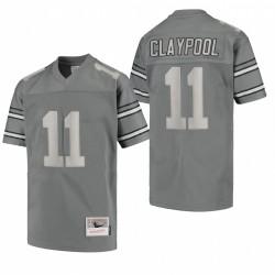 Steelers Chase Claypool Metal Replik Trikot Holzkohle
