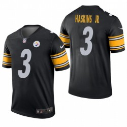 Dwayne Haskins Jr. Trikot Steelers Schwarz Legend
