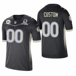 PERSONALISIERENEN TRIKOT Steelers 2021 AFC Pro Bowl SPIEL Anthrazit