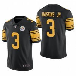 Steelers Dwayne Haskins Jr. Trikot Schwarz Farbe Rush Limited