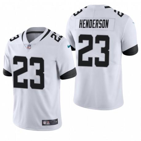 C.J. Henderson Trikot Jaguare NFL Draft WEIß Dampf Limited