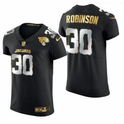 Jaguars James Robinson Golden Edition Trikot Schwarz Elite