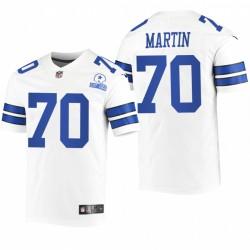 Cowboys Zack Martin Trikot Weiß 60. Jubiläum Limited