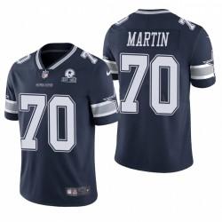 Cowboys Zack Martin Trikot Navy 60. Jubiläumsdampf Limited