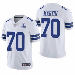 Cowboys Zack Martin Trikot Weiß 60. Jubiläumsdampf Limited