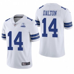 Cowboys Andy Dalton Trikot Weiß 60. Jubiläumsdampf Limited