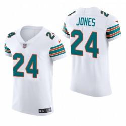 Delfine Byron Jones Trikot Weiß Dampf Elite