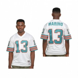 Dan Marino Trikot Dolphins Legacy Replica Weiß Throwback