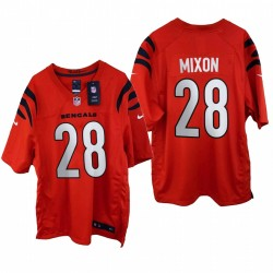 Joe Mixon 2021 SPIEL Trikot Bengals Orange