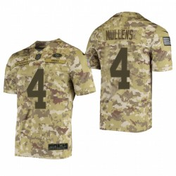 49ers Nick Mullens Great to Service Trikot Camo Limited
