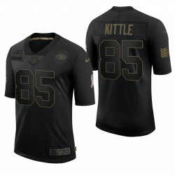 49ers George Kittle Great to Service Trikot Schwarz Limited
