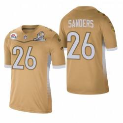 Miles Sanders Trikot Eagles 2021 NFC Pro Bowl SPiel Gold