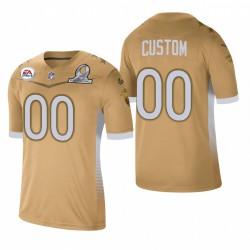 Personalisierter Trikot Falcons 2021 NFC Pro Bowl SPIEL GOLD