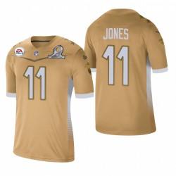 Julio Jones Trikot Falcons 2021 NFC Pro Bowl Spiel Gold