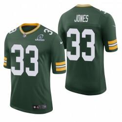 Packer Aaron Jones Trikot Green NFL Playoffs Classic Limited