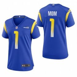 Frauen Rams 2021 Muttertag Trikot Royal Spiel
