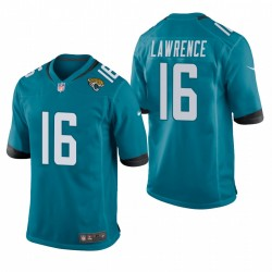 Trevor Lawrence 2021 NFL Draft Jaguars Trikot Teal Spiel