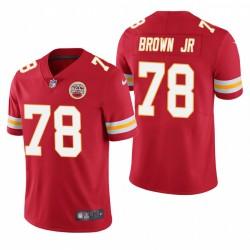 Chiefs Orlando Brown Jr. Trikot Rot Dampf Limited